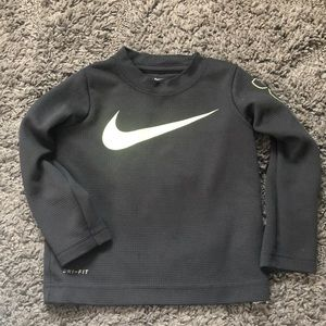 Toddler boys Nike drifit long sleeve